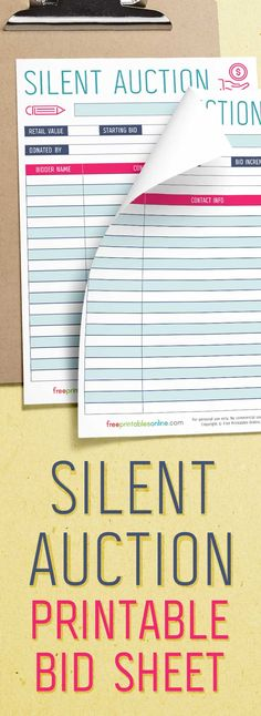 fund raising non profit Silent Auction Bid Sheets, Silent Auction Baskets, Silent Auction Donations, Fundraising Activities, Fundraising Events, Tips And Tricks, Quotes Pink, Boy Quotes, Family Quotes