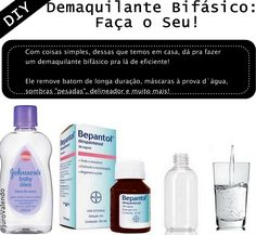 demaquilante bifásico Face And Body, Diy Beauty, Soap, Hair Makeup, Personal Care, Cosmetics, Skin Care, Nature, Hair Styles