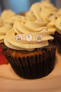 Bananen-Karamell-Cupcakes