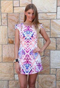 Pink/PurpleWanderlust Dress mini