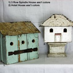 this site has the most beautiful rustic birdhouses