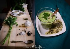 Raw cucumber soup ingredients. A soup for busy people. Such an easy to make recipe.Ready in less than 10 minutes. Perfect for when you don't have time for a complicated dinner. Enjoy!
