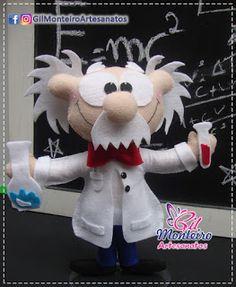 Gil Monteiro Artesanatos - RJ: Cientista Albert Einstein