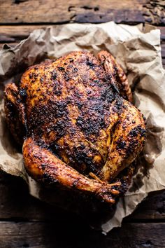 Magic Faux-Tisserie Chicken - Super easy, super delicious, seasoned rotisserie chicken from Serena Wolf's new book, The Dude Diet. @ halfbakedharvest.com