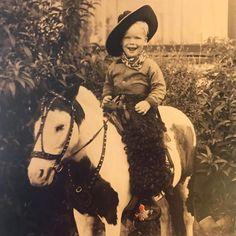 Little cowboy Doug Little Cowboy, Cowboy And Cowgirl, Doug Mcclure, Clint Walker, James Drury, Old Folks, The Virginian, Baby Grows, Cowboys