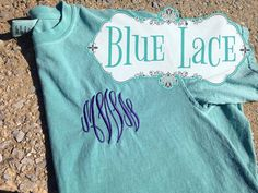 Comfort Color T's on Etsy, $22.00