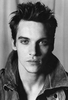 Jonathan Rhys Meyers, looking every bit of how I imagined Liam.