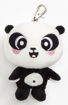 An adorable plush panda crafted with Gund's signature attention to detail is ready to accompany your young student and give her a little snuggle whenever she needs one. Color(s): none. Brand: GUND INC.. Style Name: Gund Stuffed Panda Backpack Clip (Girls). Style Number: 912197. $10.00 by chelsea