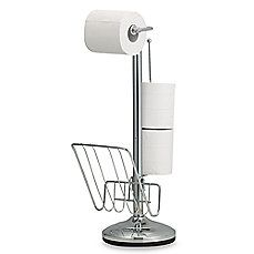image of Toilet Tissue Stand and Reserve Holder