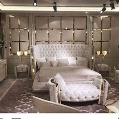 Have a look at this intersting classic bedroom furniture - what an original design and style Modern Luxury Bedroom, Luxury Bedroom Furniture, Luxury Bedroom Design, Bedroom Bed Design, Contemporary Bedroom, Luxurious Bedrooms, Home Decor Bedroom, Bedroom Ideas, Modern Furniture