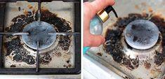 A amestecat trei ingrediente ieftine si a curatat perfect aragazul! Cleaning Hacks, Plant