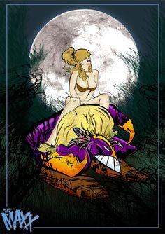 The Maxx and Julie Winters 11X17 Fan Art Print