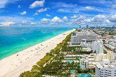 South Beach Miami Florida Us - Travel Souvenir Fridge Magnet South Beach Miami, Best Beach In Florida, Destin Beach, Florida Travel, Miami Florida, Florida Beaches, Visit Florida, North Beach, South Florida