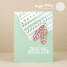 Thank+You+Feather+Card - Scrapbook.com