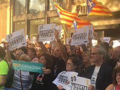 Catalonia, open letter to Juncker and Tusk: the silence of the EU is unjustifiable