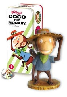 Classic Kellogg's Character Statue #4 Coco the Monkey by Dark Horse. $24.88. Linited Edition. We are pleased to announce the fourth statue in our Vintage Kellogg's Character Series, Coco the Monkey. Coco is a follow-up to our first three statues in the series: Tony the Tiger, Sugar Pops Pete, and Smaxey the Seal.  Our Coco the Monkey statue is inspired by images of Coco from the Kellogg's archives, but also recalls the look of 1940s sculpting and painting.  Each...