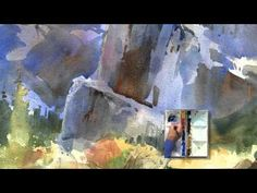 Using Color Contrast and Brush Size to Create Detail in a Landscape