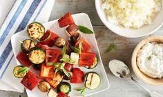Vegetable & Haloumi Kebabs | GoodnessMe Box