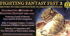 El Descanso del Escriba: Fighting Fantasy Fest II, el 2 de septiembre en Lo...