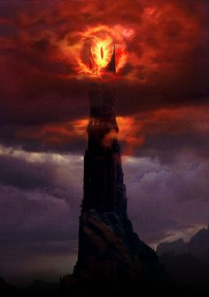 The Eye of Sauron. Professor Tolkien's interpretation of evil. A lidless eye, wreathed in flame. Never resting, always vigilant.