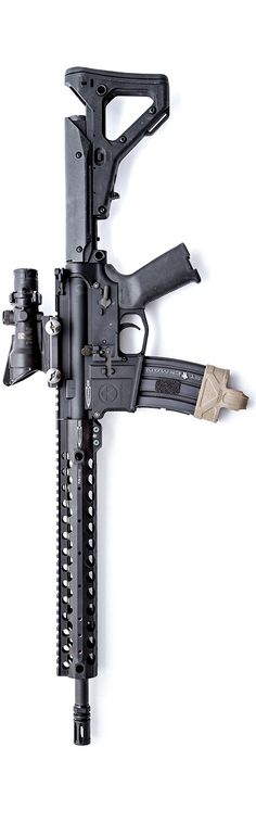 Trijicon ACOG, Centurion Arms CMR URG, and Magpul lower. By Stickman.