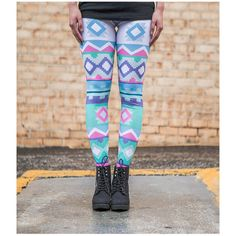 Tribal Princess Leggings ($26) ❤ liked on Polyvore featuring pants, leggings, grey, women's clothing, gray leggings, thin leggings, tribal pattern leggings, stretchy pants and grey leggings