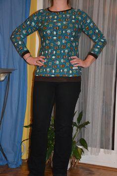 CheRRy's World: Eulen Kaschi Shirt