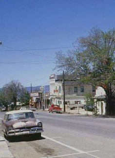Street Scene, Golden, Colorado, 1965