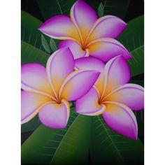 Lukisan objek motif bunga kamboja  Dimensi : 80x60 cm  Bahan : Kain Kanfas  Cocok digunakan sebagai hiasan dinding atau yang lainnya.