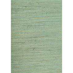 allen + roth Light Moss Green Grass Cloth Unpasted Wallpaper