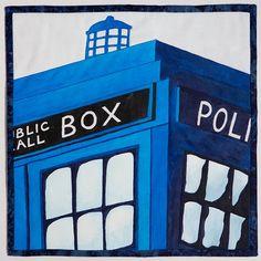 TARDIS quilt ideas