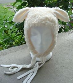 Items similar to Lamb Hat White Christmas Pageant Sheep on Etsy Kids Sheep Costume, Sheep Costumes, Nativity Costumes, Sheep Ears, Baby Sheep, Little Bo Peep Costume, Lamb Costume, Christmas Pageant, Halloween Costume Contest