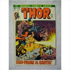 Thor Comic Book Thor Comic Book, Bronze Age, Marvel Comics, Places To Visit, Auction, United States, Art, Art Background, Kunst