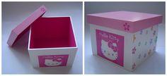 """""""Caixa Hello Kitty Decoupage"""" - by Patricia Wong"""