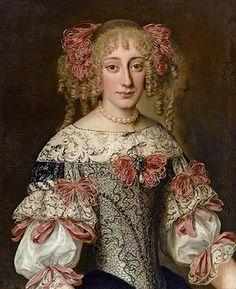 Jacob Ferdinand Voet (Anvers 1639 – circa 1700), Portrait d'une élégante Demoiselle, c.1678 ?, oil on canvas, 73 cm x 59 cm. © The Weiss Gallery, Paris Tableau, stand 7.