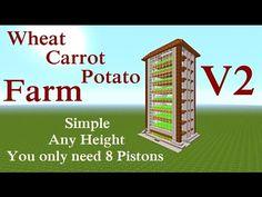 Minecraft Tutorial : Iron Golem Farm Playstation & Xbox, Build-in Storage System - YouTube