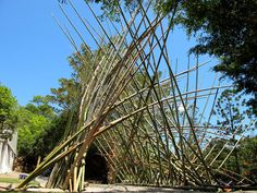 georges cullivier, bamboo sculpture - Google Search