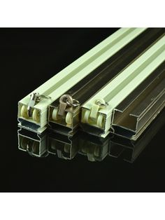 Ivory and Rose Gold Ceiling Mounted or Wall Mounted Single Curtain Tracks Gold Ceiling, Custom Made Curtains, Curtain Rails, Rose Gold Color, Bay Window, Wall Mount, Track, Ivory, Things To Sell