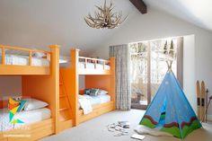 كتالوج غرف نوم أطفال باللون البرتقالي