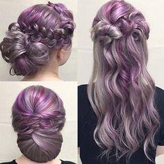 Purple Hair Color Ideas 2016