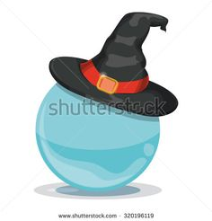 Witch Hat on Crystal ball