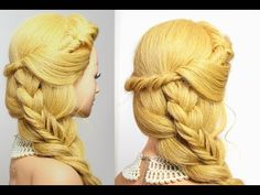 Hairstyles for long hair - YouTube