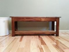 Simple Kitchen Bench | Do It Yourself Home Projects from Ana White