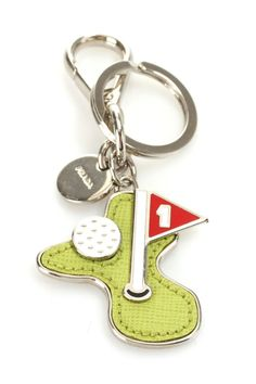 ***  WURLD  ***  LUV IT ***  ❤️❤️❤️   150113t0802  ❤️❤️❤️   Prada Golf Keychain