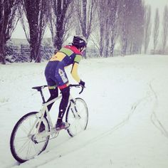 Cinelli in the snow