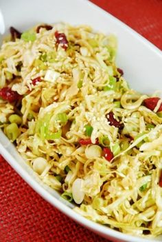 Oriental Cabbage and Cranberry Salad Recipe – 2 Points - LaaLoosh