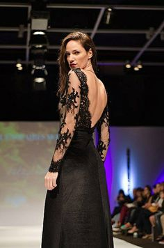 Blackdress – moda para fiesta en negro – Invierno 2014