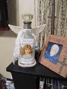Angel Vintage Bottle
