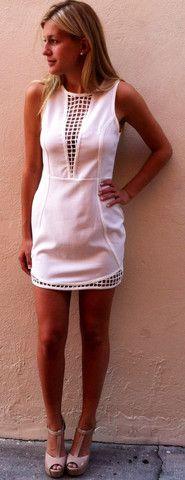 Primadonna Part White Dress