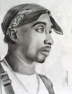 Tupac Drawing